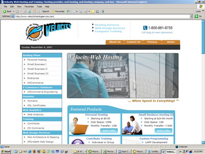 Web host services web design in NH
